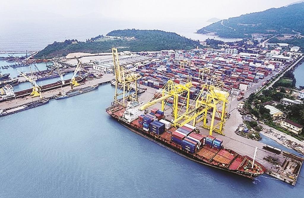 Tính đến tháng 6/2019, vận tải biển Việt Nam có 1.568 tàu với tổng dung tích khoảng 4,8 triệu GT, tổng trọng tải khoảng 7,8 triệu DWT. Ảnh: ST.