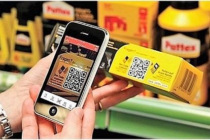 Truy cập nguồn gốc thực phẩm qua điện thoại thông minh
