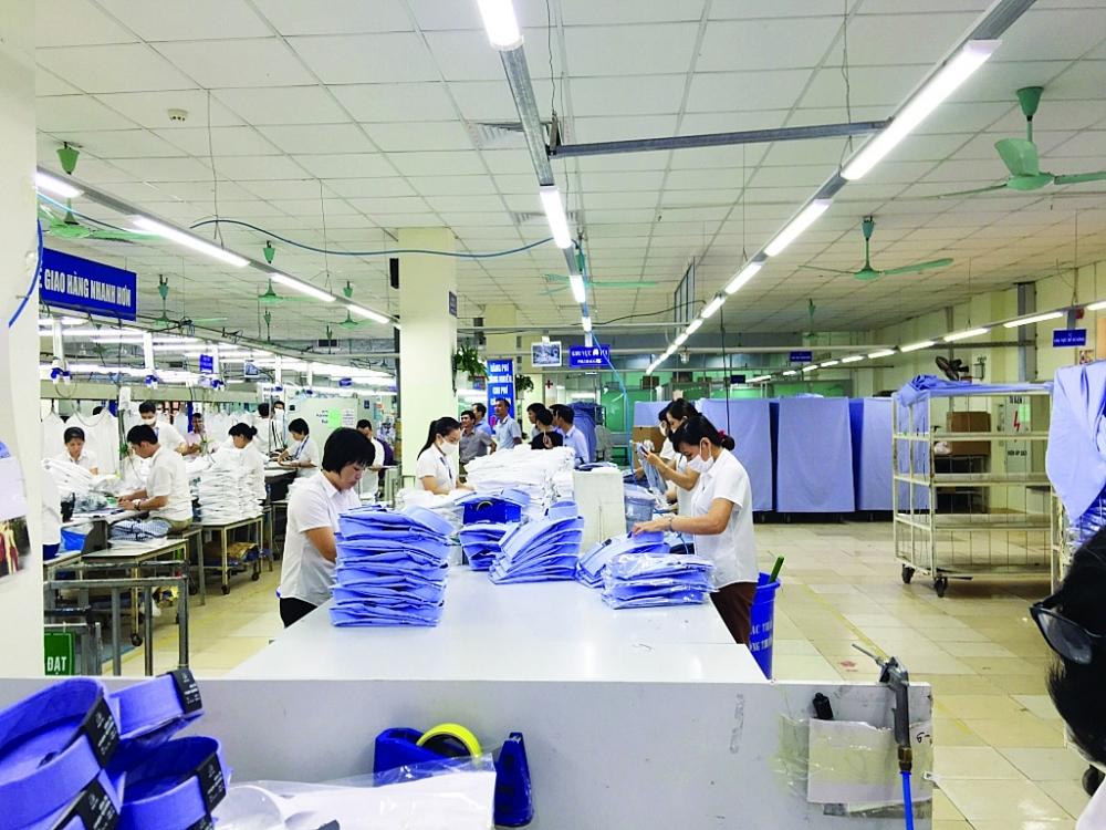 Với kịch bản thuận lợi nhất, xuất khẩu dệt may năm nay có thể đạt 34 tỷ USD. Ảnh: Nguyễn Thanh