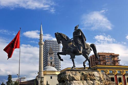 Hình tượng chiến binh Albania