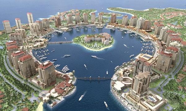 Qatar một đất nước giàu nhất thế giới nhờ vào xuất khẩu dầu mõ