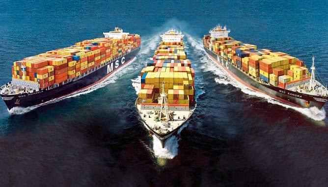 Sự khác biệt của vận tải đường thủy nội địa và vận tải đường biển quốc tế