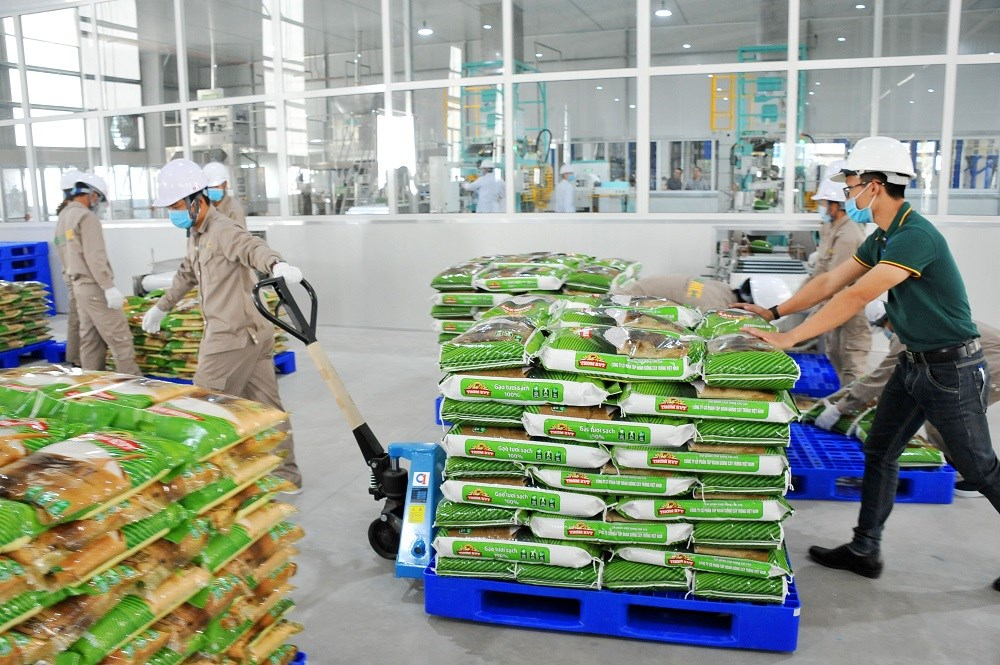 Gạo Việt Nam bán tại thị trường Anh không mang tên nhà sản xuất mà chỉ mang tên nhà phân phối
